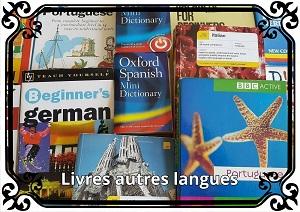 Catégorie Livres autres langues étrangères