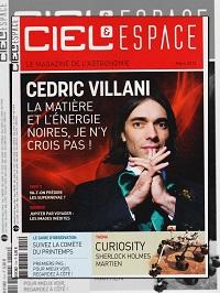 CIEL & ESPACE 514 mars 2013 – Cédric Villani