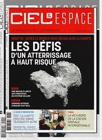 CIEL & ESPACE 533 septembre 2014 – Les défis d'un atterrissage à haut risque