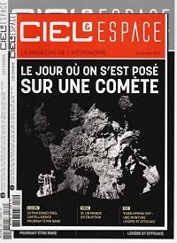 CIEL & ESPACE 535 décembre 2014 – Le jour où on s'est posé sur une comète