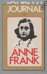 Journal d'Anne FRANK – Le livre de poche