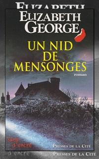 GEORGE Elizabeth – Un nid de mensonges – Presses de la Cité