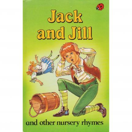 Jack and Jill and other nursery rhymes – Ladybird book face - Bouquinerie indépendante en ligne culture okaz