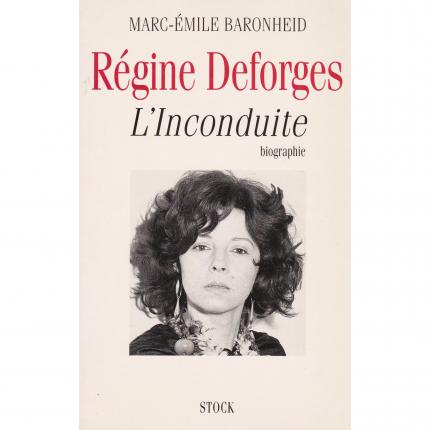 BARONHEID Marc-Emile, Régine Deforges l'inconduite – Stock de 1995 face - Bouquinerie en ligne culture okaz