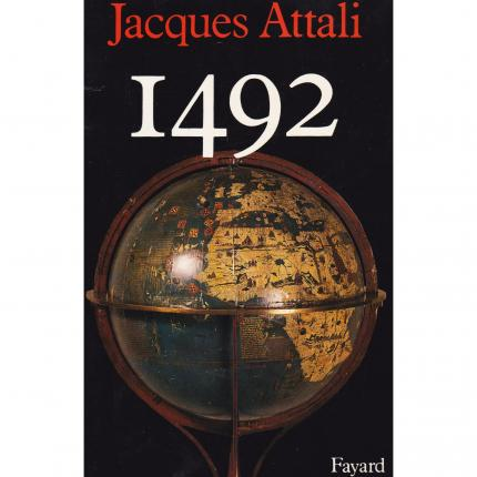 ATTALI Jacques, 1492 Face - Bouquinerie en ligne culture okaz
