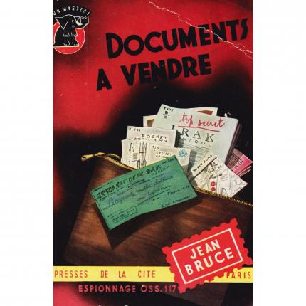 BRUCE Jean, Documents à vendre – Presses de la Cité 232 Face - Bouquinerie en ligne culture okaz