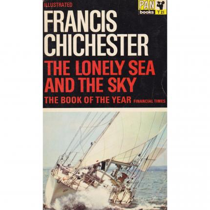 CHICHESTER Francis, The lonely sea and the sky – PAN books 1964 Face - Bouquinerie en ligne culture okaz