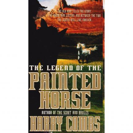 COMBS Harry, The legend of the Painted Horse – Dell Fiction 1997 Face - Bouquinerie en ligne culture okaz