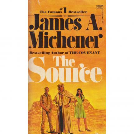 MICHENER James A., The Source – Fawcett Crest Fiction 1965 Face - Bouquinerie en ligne culture okaz