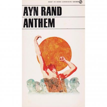 RAND Ayn– Anthem – Editions New American Library Face - Bouquinerie en ligne culture okaz