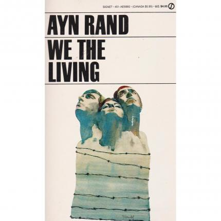 RAND Ayn – We the living – Editions New American Library Face - Bouquinerie en ligne culture okaz