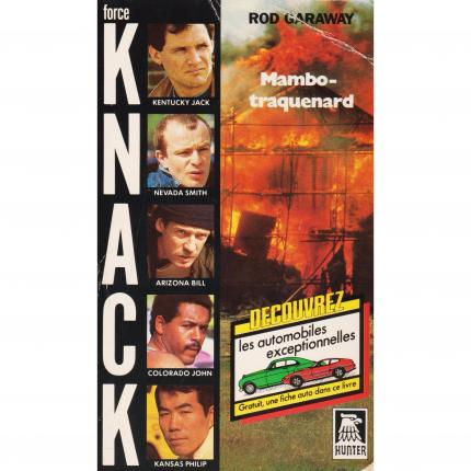 GARAWAY Rod – KNACK Mambo traquenard - Hunter collection Force KNACK N°6 Face - Bouquinerie en ligne culture okaz