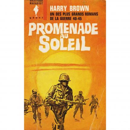 Promenade au soleil de Harry BROWN – Marabout Couverture - Bouquinerie en ligne culture okaz
