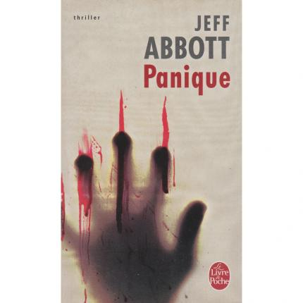 ABBOTT Jeff - Panique - Couverture - Livre occasion bouquinerie culture okaz
