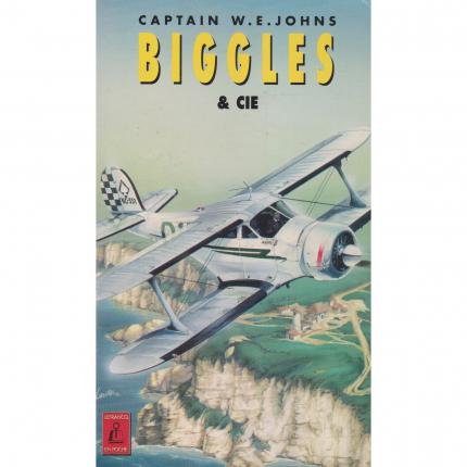 JONES W.E. – Biggles & cie - Couverture - Livre occasion Bouquinerie en ligne culture okaz