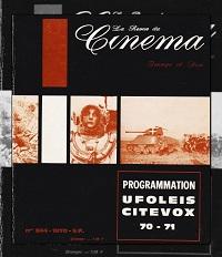 La revue du cinéma, Image et son numéro 244 de 1970