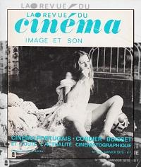 La revue du cinéma, Image et son numéro 292 Janvier 1975