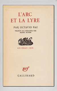 PAZ Octavio – L'arc et la lyre