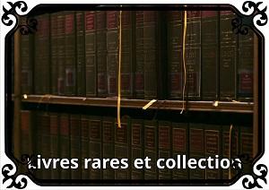 Catégorie Livre rare et collection