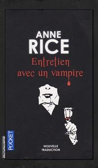 Entretien avec un vampire d'Anne RICE – Pocket