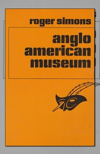 SIMONS Roger – Anglo american museum – Le Masque