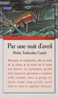 TANKERSLEY CUSICK Richie – Par une nuit d'avril – Pocket Junior
